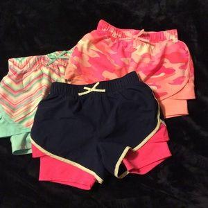 Bundle of 3 girl size 8 Oshkosh shorts